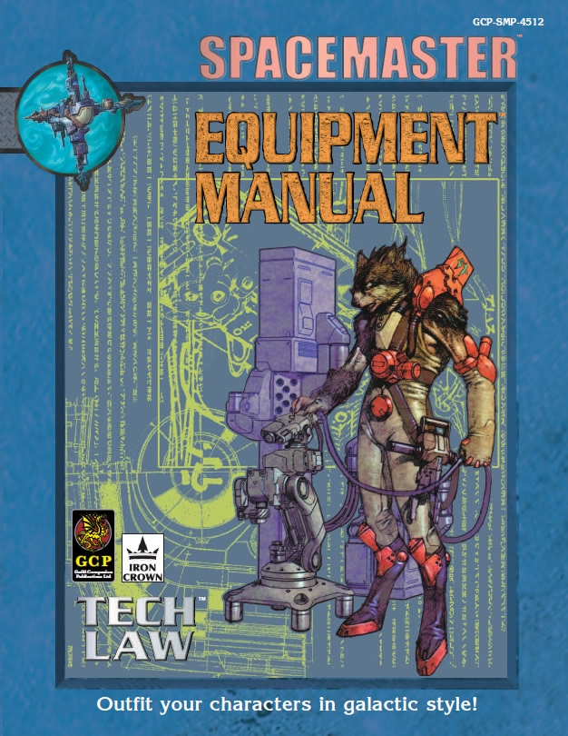 Spacemaster Privateers Tech book Equipment manual