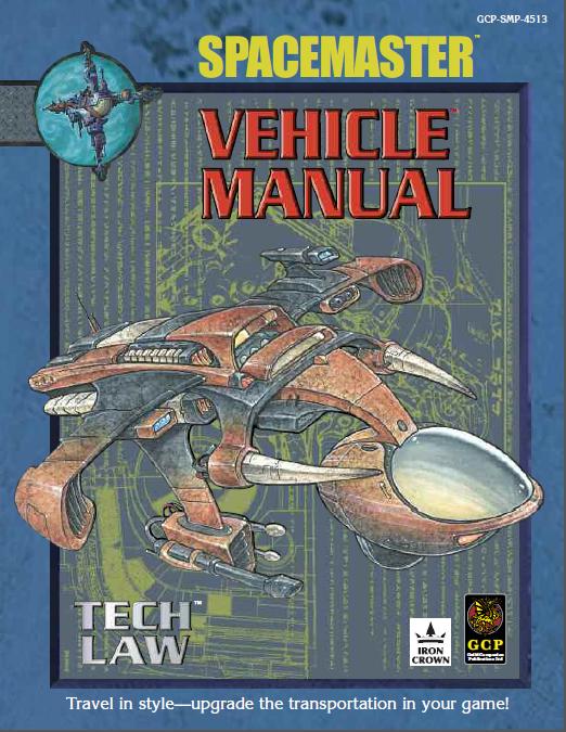 Spacemaster Tech Book Vehicle Manual