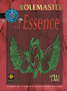 Spell Law or essence for Rolemaster Fantasy Role Playing