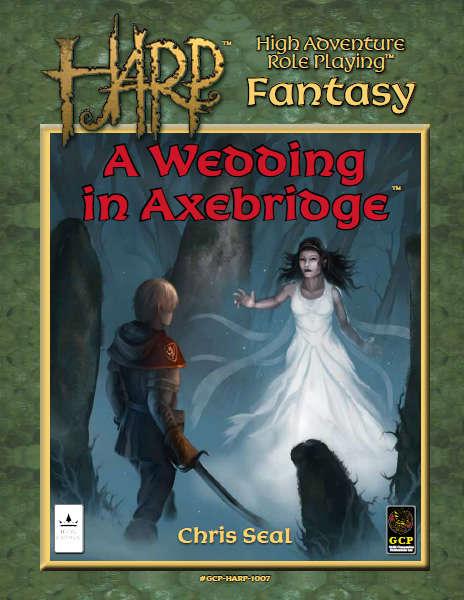 HARP A wedding in Axebridge adventure module cover