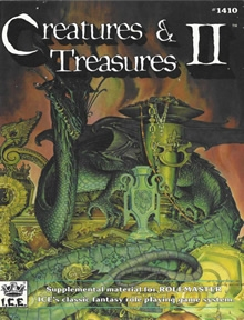 Creatures and Treasures 2 for Rolemaster Classic cover