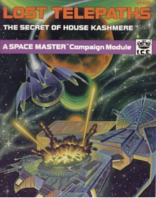 lost telepaths the secret of house kashmere adventure module for Spacemaster cover