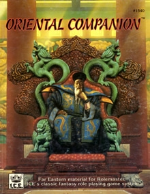 Oriental companion for Rolemaster cover