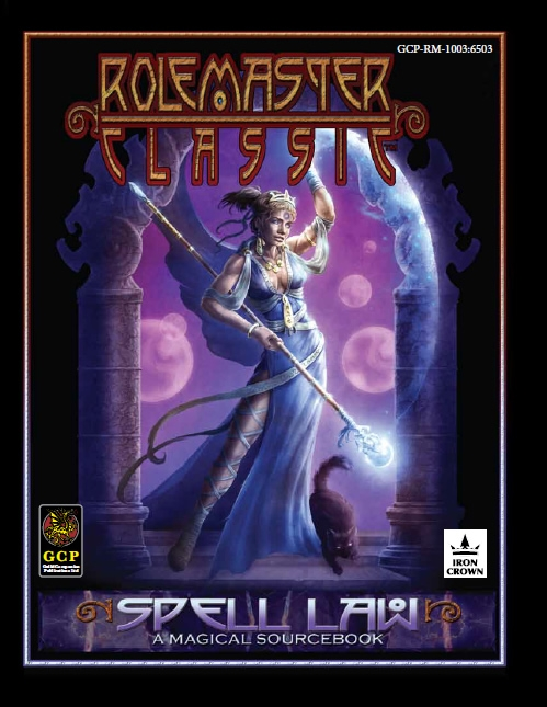 Rolemaster Classic Spell Law cover