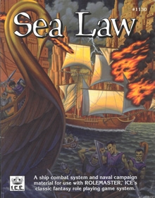 Sea law for Rolemaster cover