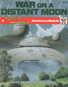 War on a distant moon adventure for Spacemaster