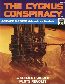The Cygnus Conspiracy adventure for Spacemaster