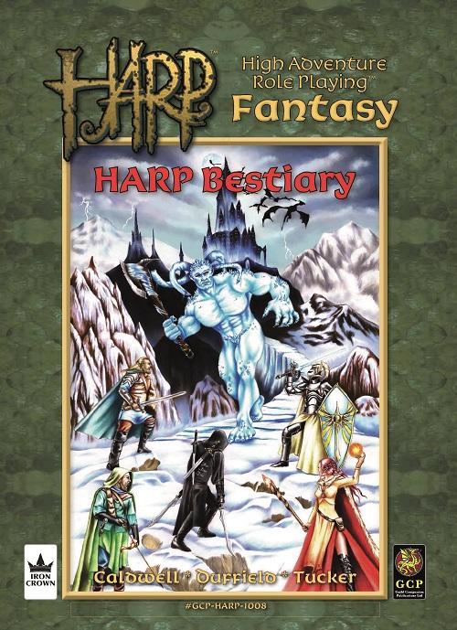 HARP Bestiary cover