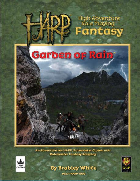 HARP Garden of Rain cover